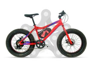 big junior fat bike electrica