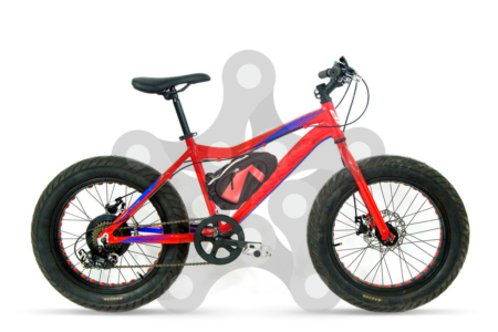 big junior fat bike electrica